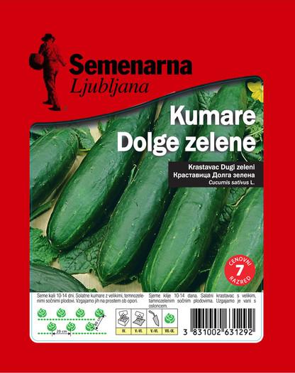 KUMARE DOLGE ZELENE 25 g
