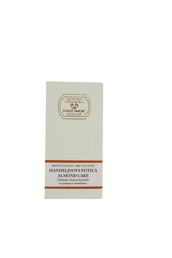 Čokolada mlečna: Mandljeva potica 100g