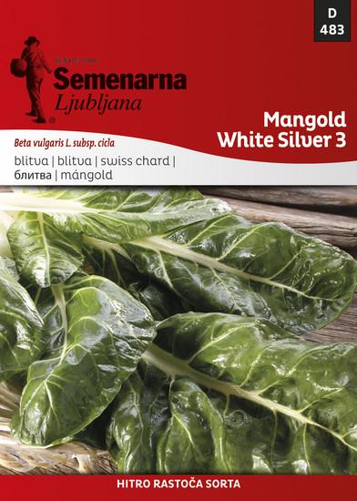 MANGOLD WHITE SILVER 3